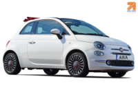 Fiat 500 Convertible or similar