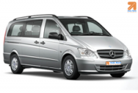Mercedes Vito, Renault Traffic, Ford Transit 9 seater or similar