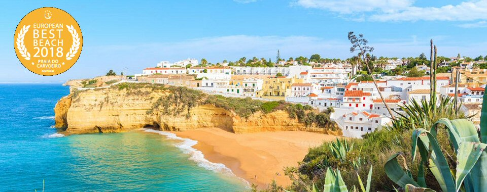 Carvoeiro Beach in Algarve Best Beach 2018
